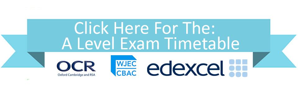 A Level Exam Timetable
